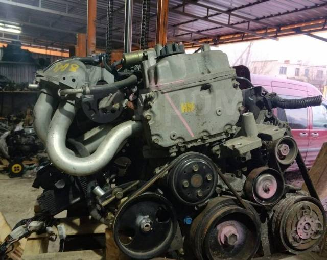 Двигатель в сборе. Nissan Wingroad, WHNY11 Nissan Primera, P12, P12E Nissan Almera Двигатель QG18DE