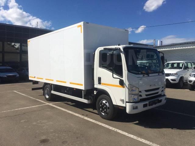 Isuzu Elf. Isuzu ELF 7,5 изотермический фургон в наличии в Иркутске, 5 200куб. см., 4 500кг., 4x2