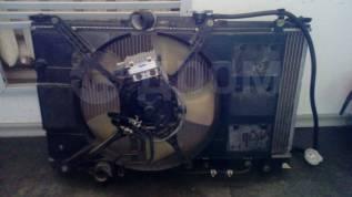 Радиатор охлаждения двигателя. Mitsubishi Legnum, EA1W, EA4W, EA7W, EC1W, EC7W Mitsubishi Galant, EA1A, EA2A, EA7A, EC1A, EC7A, EC3A, EA6A, EA3W, EA2W...