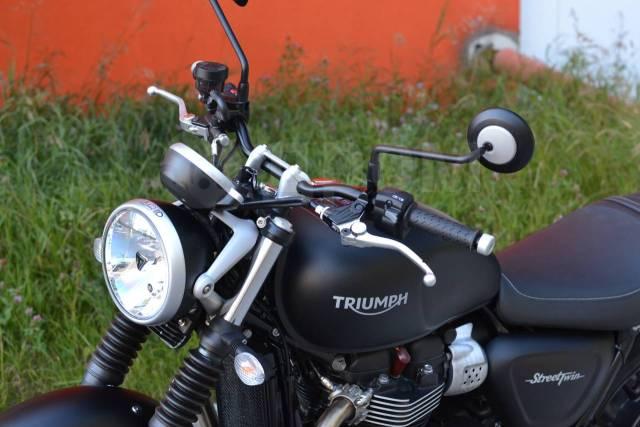 Triumph Street Twin. 900куб. см., исправен, птс, без пробега