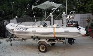 Лодка RIB 520. 2011 год год, длина 5,20м., двигатель подвесной, 60,00л.с., бензин