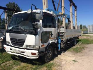 Nissan Diesel. Продам грузовик с манипулятором , 6 925куб. см., 8 590кг.
