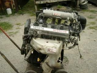 Двигатель в сборе. Toyota Corona, ST170 Двигатель 4SFE