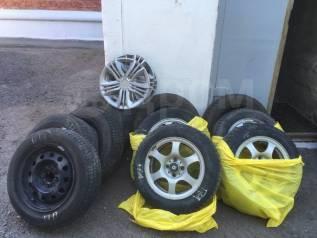 """Комплект из 4 шипованные зимних колёс Nokian. x14"""""""
