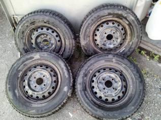 """Продам колеса на зимней резине Nokian Hakkapelita 7. x14"""" 4x114.30"""