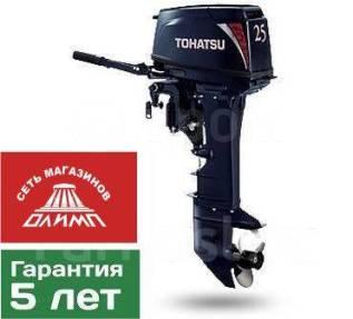 Tohatsu. 25,00л.с., 2-тактный, бензиновый, нога U (762 мм)