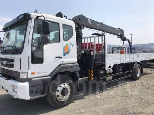 Daewoo. Novus 8 тонн 2018 год с КМУ HIAB HTS 2076, 7 640куб. см., 8 000кг.