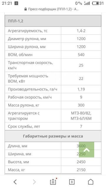 МТЗ 80. Мтз 80 пресс подборщик ппл-1.2, 80 л.с.