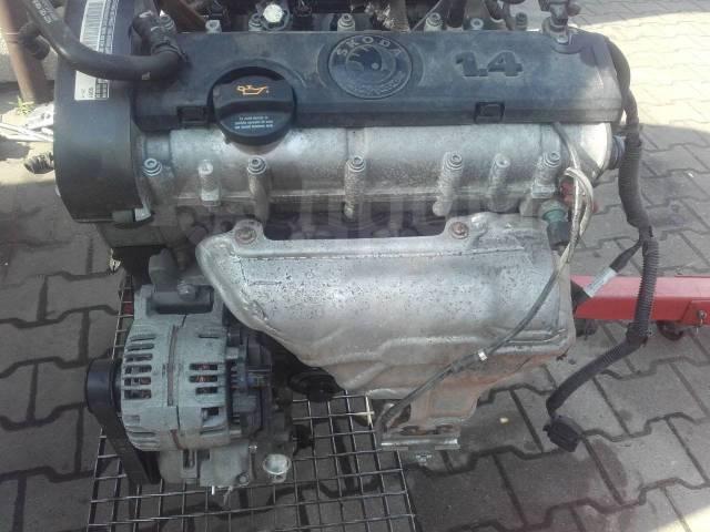 skoda двигатель cggb
