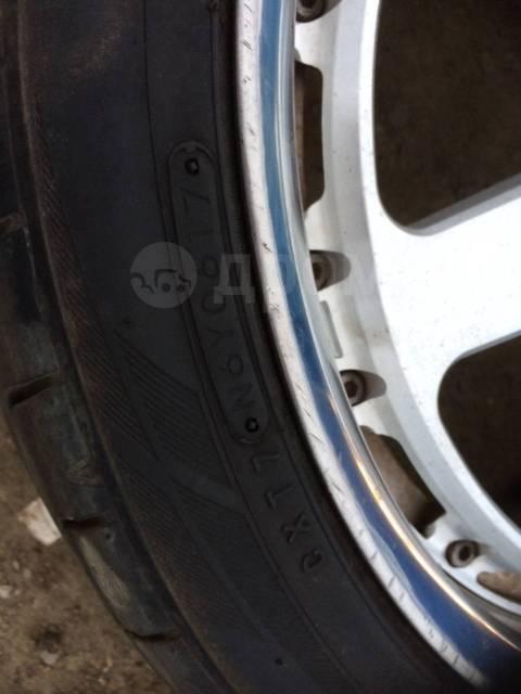 """Кованые составные диски Rays 8jj 9jj off 45 с резиной Toyo Proxes. 8.0/9.0x18"""" 5x114.30 ET45/45"""