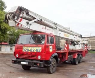 КамАЗ АГП-30. Автовышка коленчатая 32 метра (АГП - 30), 32м.