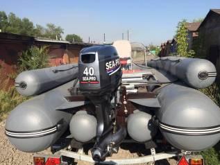 Sibriver Абакан-430 Jet. 2017 год год, длина 4 300,00м., двигатель подвесной, 40,00л.с., бензин