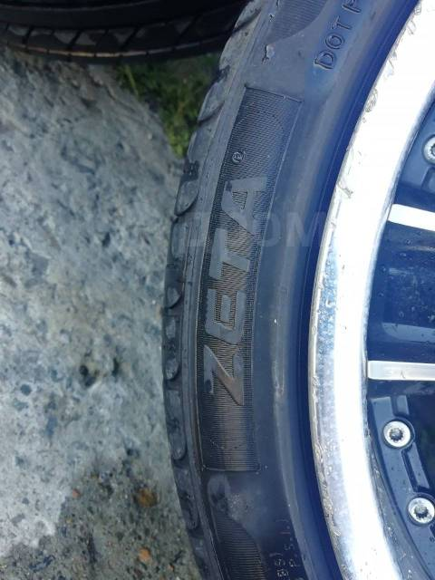 "Комплект разно широких колес Weds Maverick 005S. 8.5/9.5x18"" 5x114.30 ET38/42"