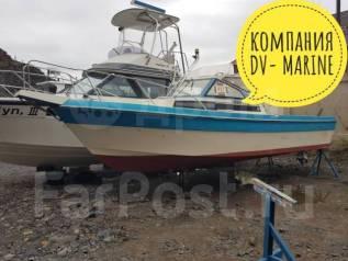 Yamaha Fish 24. 1993 год год, длина 8,00м., двигатель подвесной, 140,00л.с., бензин