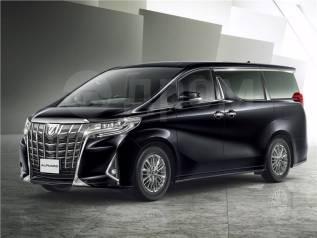 Toyota Alphard. С водителем