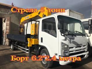 Isuzu Forward. Самогруз , 2013 г. в. Стрела 5 тонн, 7 000кг., 4x2