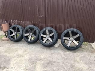 """Продам комплект шикарных оригинальных американских колес на 22 DUB. 9.5x22"""" 5x150.00 ET32"""