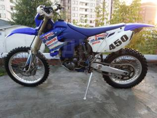 Yamaha WR 450F. 450куб. см., исправен, без птс, с пробегом