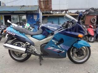 Kawasaki ZZR 1100 Ninja. 1 100куб. см., исправен, птс, без пробега