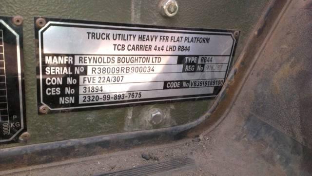 Reynolds boughton rb44, 1993. Продам Reynolds Boughton LTD RB44, 4 000куб. см., 2 000кг.