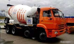 КамАЗ 6540. Автобетоносмеситель 69365J на шасси Камаз-6540 9м3 (ЕВРО 4), 9,00куб. м.