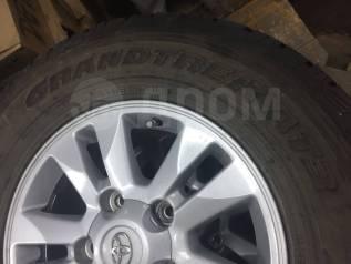 """Комплект шин Dunlop R17 на дисках (оригинал) Land Cruiser 200. x17"""""""