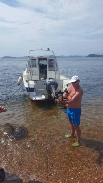 Аренда Катера . Доставка на острова. Рыбалка. Рыбалка на кальмаров. 10 человек, 50км/ч