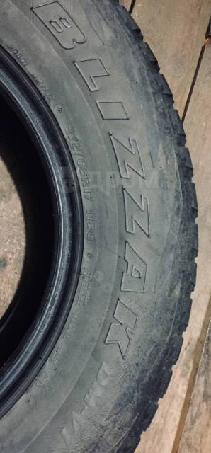 Bridgestone Blizzak DM-V1. Зимние, без шипов, 60%, 4 шт