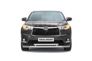 Защита бампера. Toyota Highlander, GSU50, GSU55L, MHU28, GVU58, ACU20, MCU28, GSU55, GSU40, ASU50, MHU23, MCU23, ASU50L, MCU25, GSU45, GSU40L, ASU40...