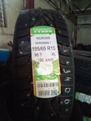 Nokian Nordman 7. Зимние, шипованные, 2018 год, без износа, 1 шт