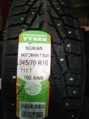 Nokian Nordman 7 SUV. Зимние, шипованные, 2018 год, без износа, 1 шт