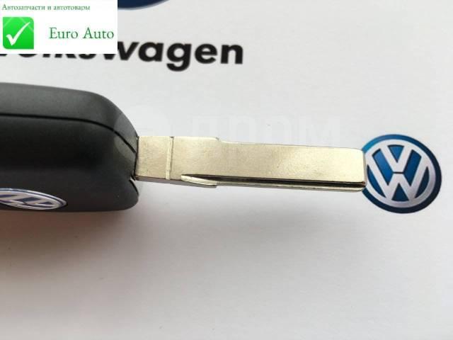 Корпус ключа. Volkswagen: Passat, Caddy, Bora, Eos, Jetta, Golf Plus, Scirocco, Tiguan, Touran, Golf, Beetle, Polo Skoda Superb Skoda Fabia, 542, 545...