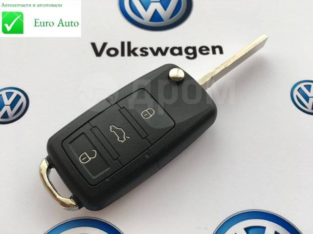 Корпус ключа. Volkswagen: Passat, Caddy, Bora, Eos, Jetta, Golf Plus, Scirocco, Tiguan, Touran, Golf, Beetle, Polo Seat Altea, 5P1, 5P5 Seat Leon, 1P1...