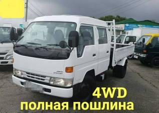 Toyota Dyna. 4WD, двухкабинник 4 тонны, 4 000кг., 4x2