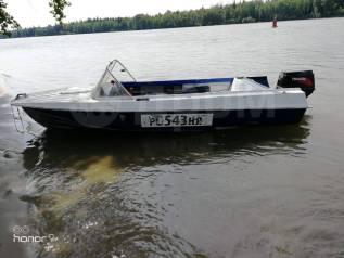 Казанка-5М. 1988 год год, длина 4,50м., двигатель подвесной, 50,00л.с., бензин