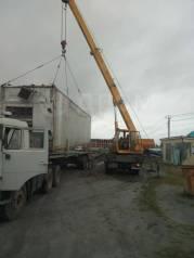 Перевозка негабарита; контейнеров . Услуги Автокрана 12 т, стрела 15 м