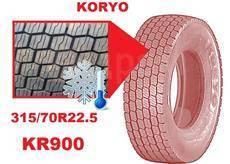 Koryo KR900. Зимние, без шипов, 2018 год, без износа, 1 шт. Под заказ