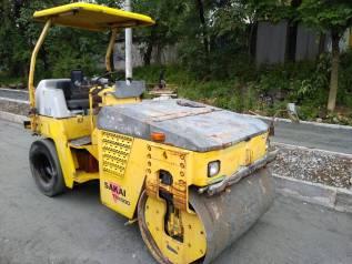 Услуги/Аренда Каток дорожный вибрационный Sakai TW500 3,5 тонн