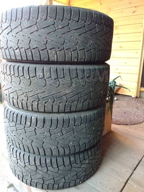 Pirelli Ice Zero. Зимние, шипованные, 50%, 4 шт