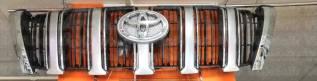 Решетка радиатора. Toyota Land Cruiser Prado, GDJ150, GDJ150L, GDJ150W, GRJ150, GRJ150L, GRJ150W, KDJ150, KDJ150L, LJ150, TRJ150, TRJ150L, TRJ150W, GR...