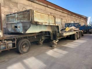 Hartung. Трал Полуприцеп-тяжеловоз Чмзап 9990 - 60 тонн, 60 000кг.