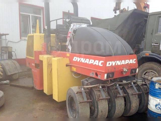 Dynapac. Асфальтовый пневмокаток 142, 6-14 т, 2011 г, 1321 м/ч