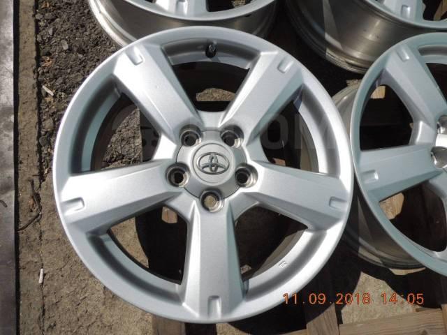оригинальные диски toyota rav-4 r-17