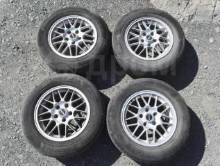 """Продам колеса Yokohama 205/65R15 с дисками Estilo R15 5x114.3 6,5 40. 6.5x15"""" 5x114.30 ET40 ЦО 66,0мм."""