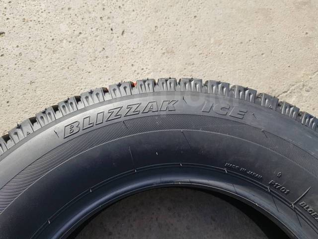 Bridgestone Blizzak Ice. Зимние, без шипов, 2018 год, без износа, 4 шт