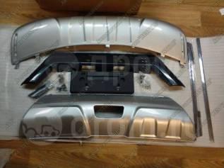 Накладка на бампер. Nissan X-Trail, T32. Под заказ