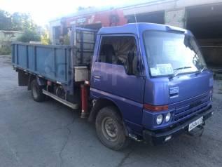 Nissan Atlas. Продам грузовик с манипулятором Ниссан Атлас, 3 500куб. см., 3 000кг., 4x2