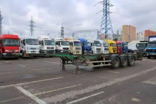 Тверьстроймаш 99393B-45. Полуприцеп контейнеровоз 2008, 38 000кг.