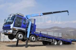 Бортовые грузовики до 12 т с манипулятором