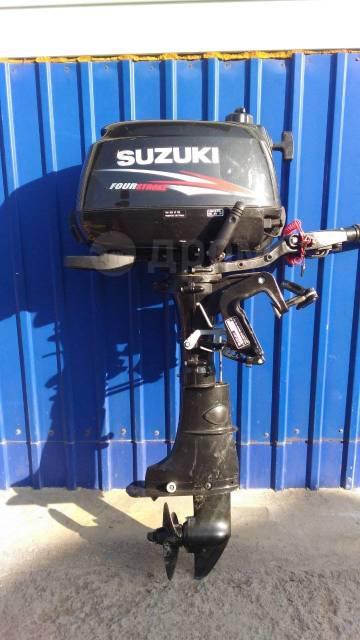 Suzuki. 5,00л.с., 4-тактный, бензиновый, нога S (381 мм), 2013 год год